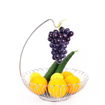Most Popular wire storage basket fruit metal colander packing hanging fruit basket